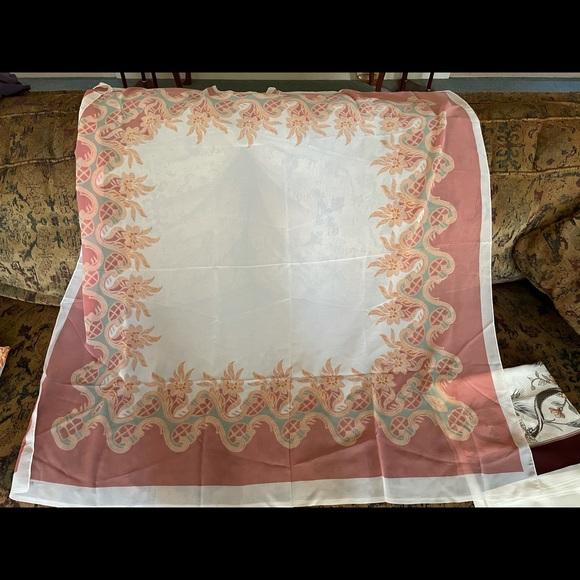 Set of 5 Vintage Square Scarves/Wraps
